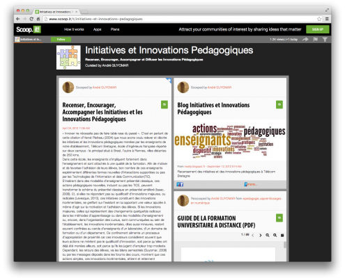 Blog Initiatives et innovations pédagogiques