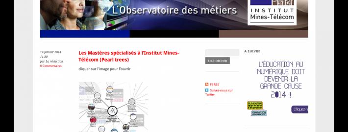 La Sélection Infos de l'Observatoire des Métiers