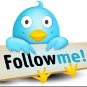 "Oiseau Twitter ""Follow me!"""