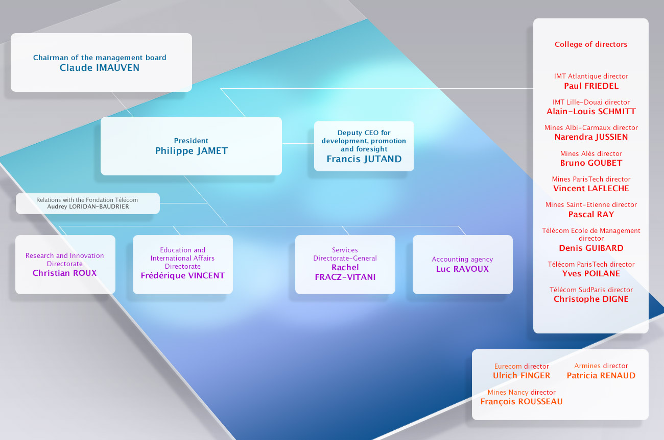 IMT organisation chart