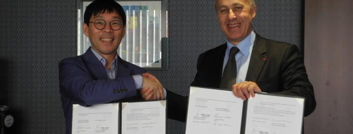 Signature d'un partenariat avec la Seoul National University
