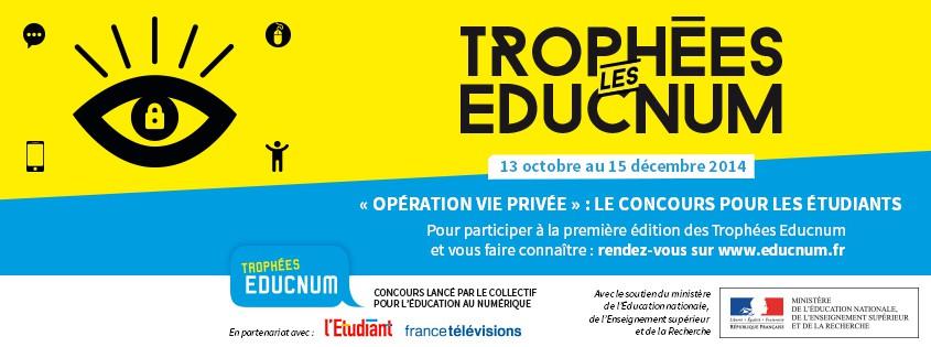 Affiche Les trophées EDUCNUM