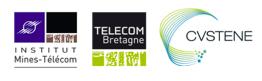 Logos des organisateurs de la bourse aux technologies