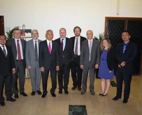Visite de l'Universiti Teknologi Petronas à l'IMT