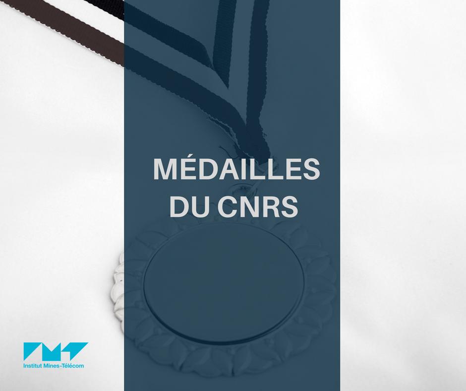 Médailles du CNRS