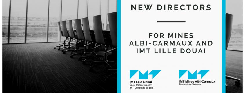New directors for IMT Lille Douai