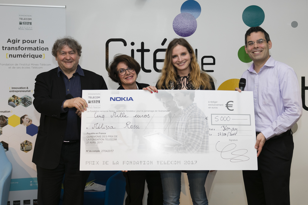 Prix de la Fondation Mines-Télécom 2017