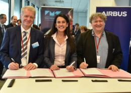 Airbus renouvelle son partenariat avec la Fondation Mines-Télécom et l'IMT