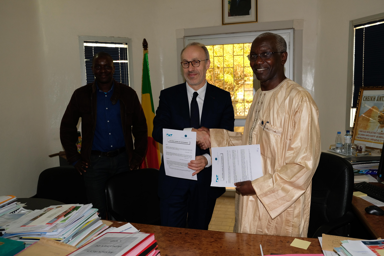 Accord cadre de partenariat entre l'IMT et l'Ecole Supérieure Polytechnique Dakar abritée par l'Université Cheikh Anta Diop de Dakar