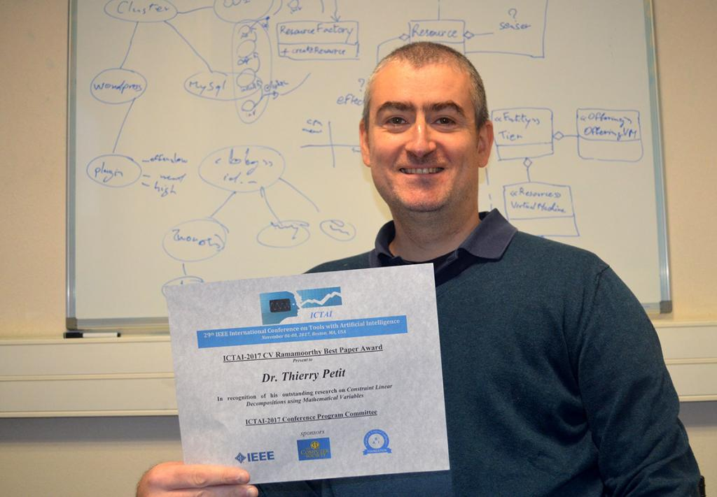 Thierry Petit Best Paper Award