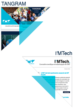 Abonnez-vous aux newsletters de l'IMT