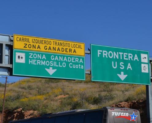 Frontière Mexique
