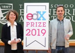 edX Prize R Sharrock P Bonfert
